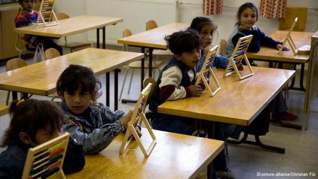 Снимка: DW, Училищна сегрегация
